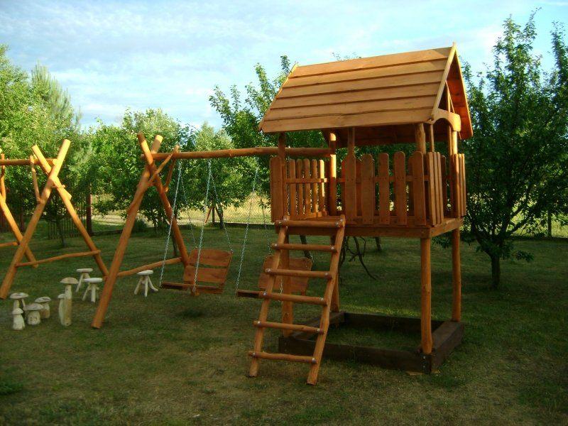 Domki Ogrodowe Dla Dzieci Altany Hustawki Place Zabaw Pictures to pin